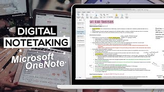 DIGITAL NOTETAKING for BEGINNERS | OneNote