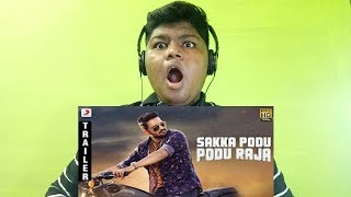 Sakka Podu Podu Raja Official Tamil Trailer react | Santhanam, Vivek str Reaction
