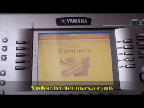 Yamaha PSR-2100 original demo sounds