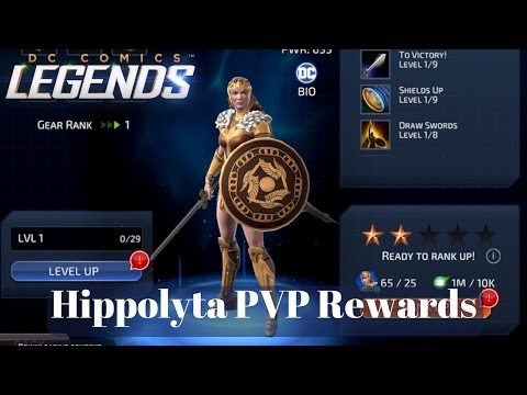 DC Legends Hippolyta PVP Rewards