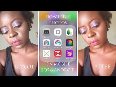 How I Edit My Photos on Mobile (iPhone + Android) | OmogeMuRa