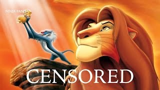 LION KING | Unnecessary Censorship | Censored Disney Pixar Parody Bleep Video
