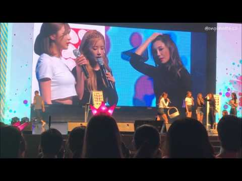 161125 APINK PINK AURORA IN SINGAPORE  - GAME SEGMENT + 3X SPEED 'MR CHU' (게임+3배속 '미스터 츄' 댄스) [Full]