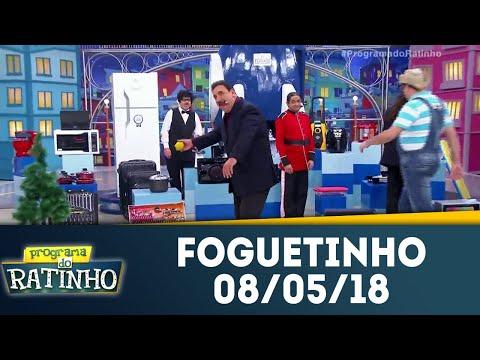 Foguetinho - Completo | Programa Do Ratinho (08/05/18)