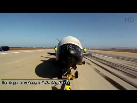 Breaking News - Air Force's Unmanned Space Vehicle (X-37B) Successy Landed