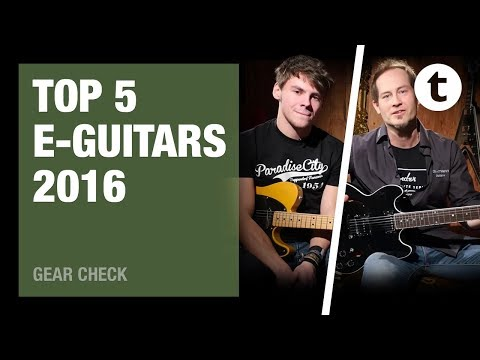 Top 5 | Best-selling electric guitars | 2016