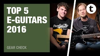 Top 5 | Best-selling electric guitars | 2016 | Thomann
