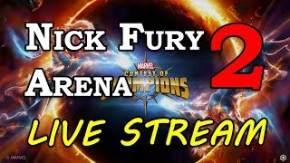 Nick Fury Arena - Part 2 | Marvel Contest of Champions Live Stream