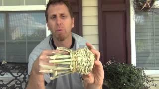 Corn Husk Basket Weaving Part 3 - Finishing the Sides