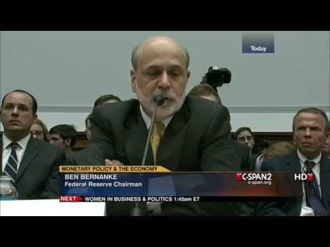 "Bernanke: ""The Fed will do whatever Congress tells us to do."""