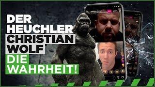 Der Heuchler Christian Wolf - die Wahrheit! Debatten manipulieren? Nicht mit uns! #prophezeiung