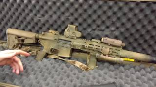 The Arsenal - Zach's HK416 build with Geissele Rail