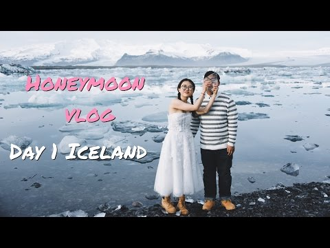 Honeymoon vlog | Iceland | 冰岛蜜月旅拍DIY | Day #1 冰川是蓝色的!温顺矮脚马!|| The Limited Ava | Ava爱世界