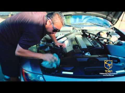 Toro wax como remover pintura de tu auto how to rem for Como lavar el motor de un carro