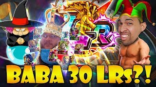 WHAT DOES IT MEAN TO BE THE LR KING? SENDING MORE LRS TO BABA! (DBZ: Dokkan Battle)