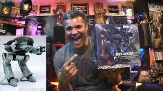 NECA Robocop ED-209 Boxed Action Figure with Sound : Unboxing