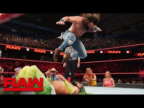 No Way Jose vs. Elias: Raw, March 18, 2019