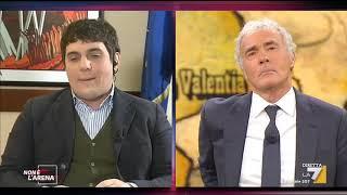 """Massimo Giletti A Marco Polimeni: """"se A Casa Mia 30 Persone Entrano Ed Escono E Non Li Vedo... ..."""