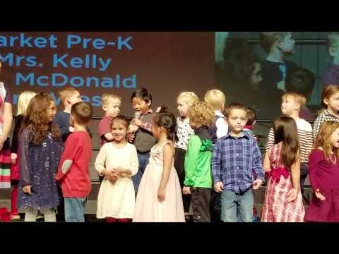 Christmas Program at Gold Creek School