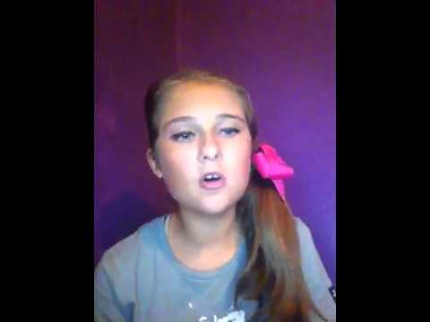 A song to stop Bullying: Mean Girls By: Rachel Crow Cover B