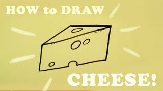 How to Draw a Cheese - Easy Things To Draw