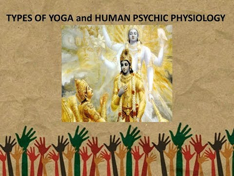 TYPES OF YOGA and HUMAN PSYCHIC PHYSIOLOGY