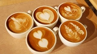 Latte art - draw ( Латте арт - рисуем )