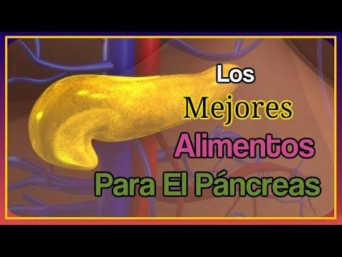 Dieta para pancreas inflamado