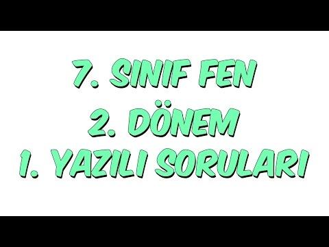 7.SINIF 2.DÖNEM 1.YAZILI | FEN