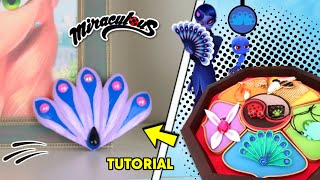 DIY The new Miraculous Ladybug | How to make activate Peacock brooch of  MAYURA Miraculous DIY