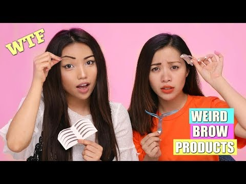 Thumbnail: Weirdest Brow Products Tested (Michelle Phan)