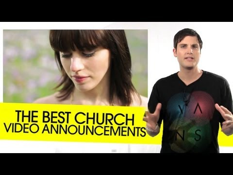 The Best Church Video Announcements | THiNK Media TV on Church Video