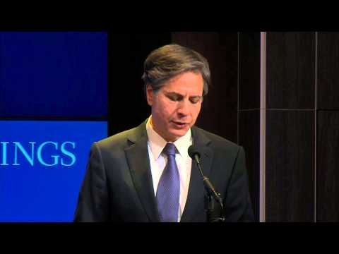 "Deputy Secretary Blinken Delivers Remarks on ""An Enduring Vision for Central Asia"""