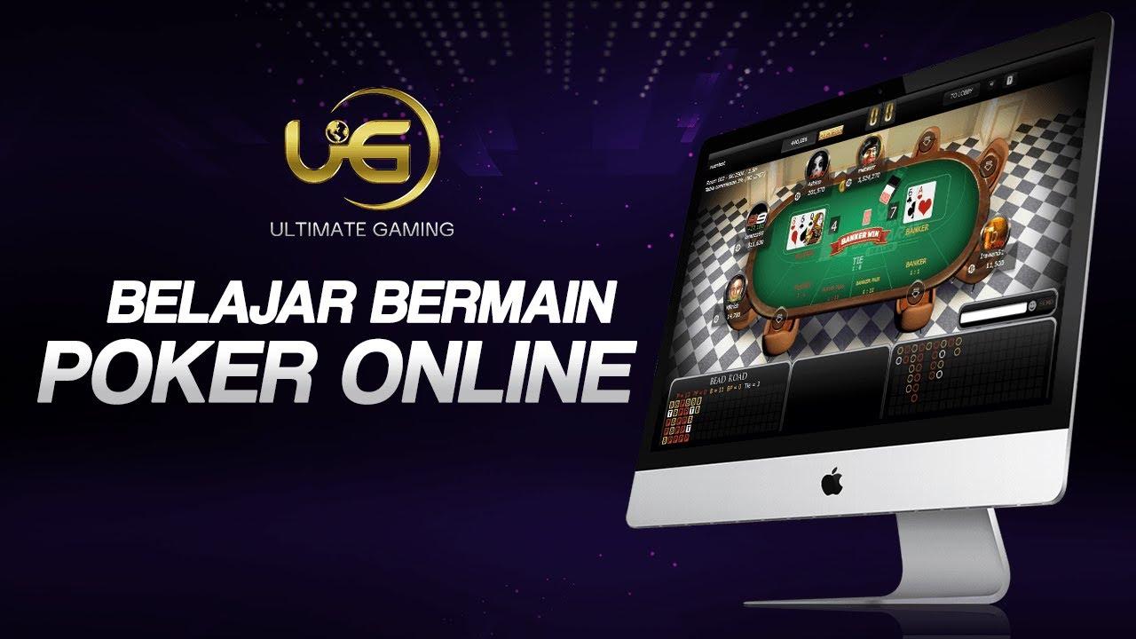 Belajar Bermain Poker Online Ultimate Gaming Youtube