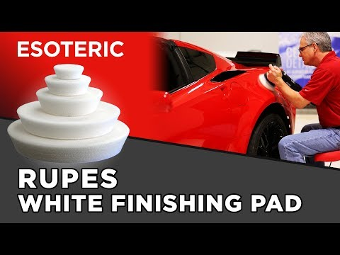 rupes-white-finishing-pad-review---esoteric-car-care