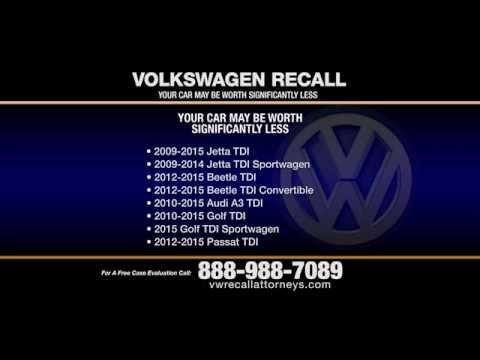 Volkswagen Recall Lawyers