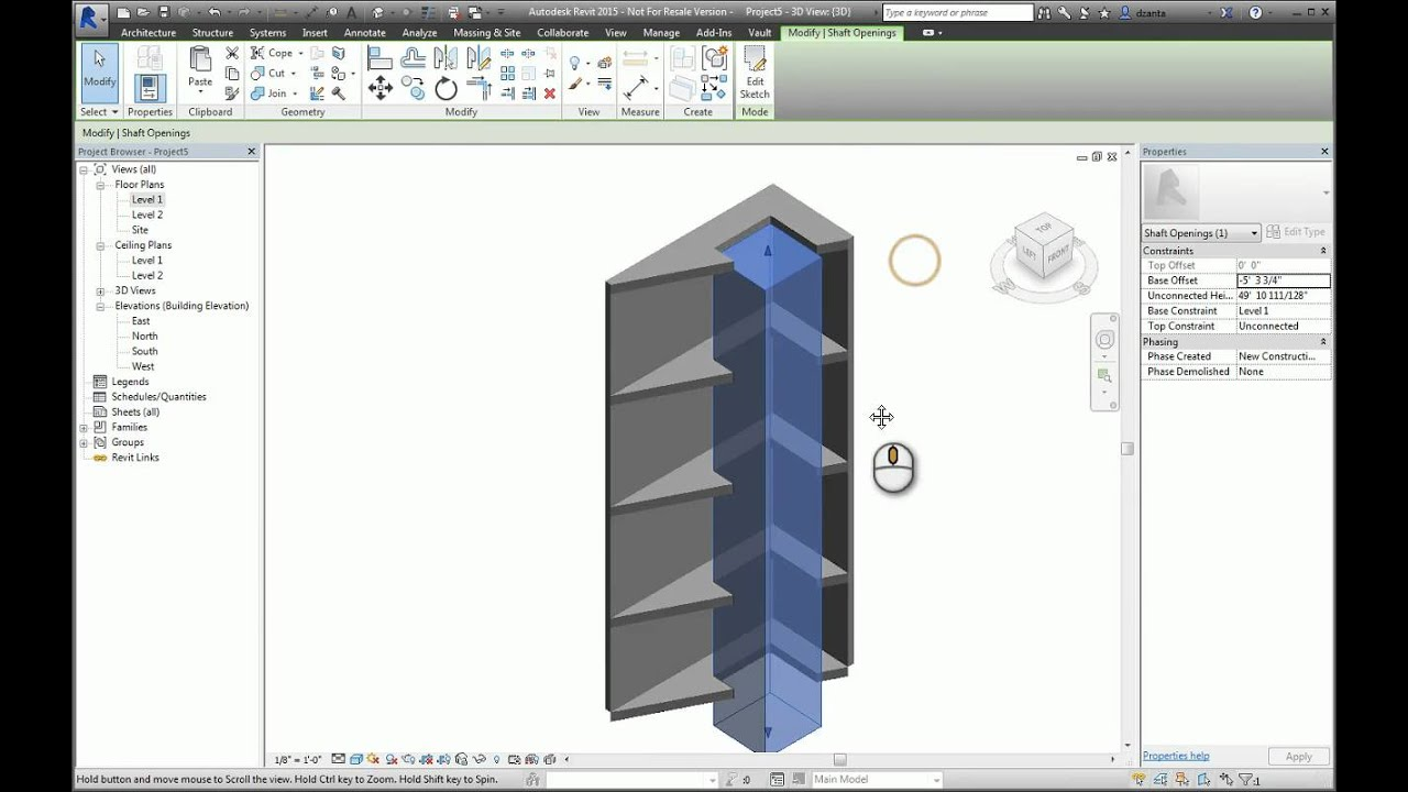 how to make walls not joint in revit