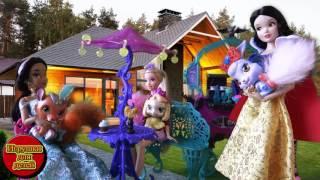 Мультфильмы Диснея Куклами Принцессы Диснея Белоснежка, Рапунцель, Золушка Мультики Куклами