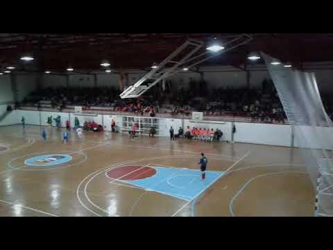Encuentro del Tres Cuñados con el Santiago Futsal