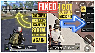 """How to fix """"I got supplies"""" not showing 