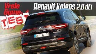 Renault Koleos 2.0 dCi/175 4WD  - Road test by Miodrag Piroški