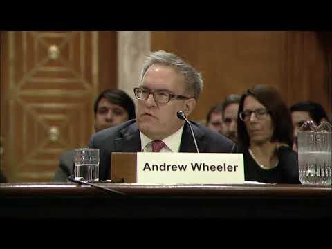 Senator Merkley Presses Trump's Environmental Nominees on Climate Disruption