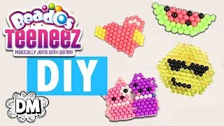 DIY Emoji Keychains with Beados Teeneez! - Back to School DIY   Dream Mining