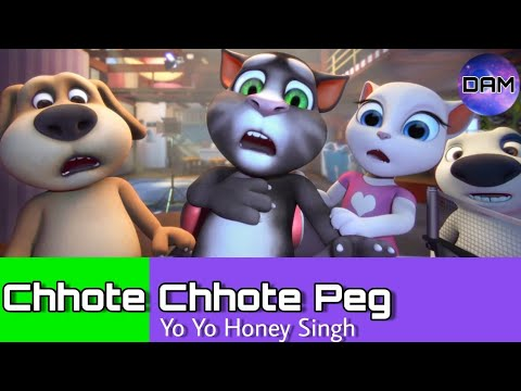 Chhote Chhote Peg: Talking Tom Version Animated Video Song | HD 720p | 2018