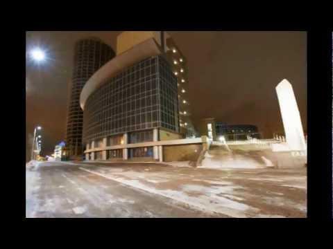 Ночной Екатеринбург в движении / Night Ekaterinburg In motion (Timelapse)