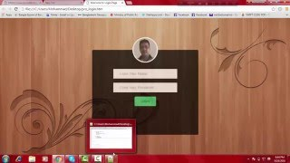 html css javascript tutorial for beginners part 7 design login form with css