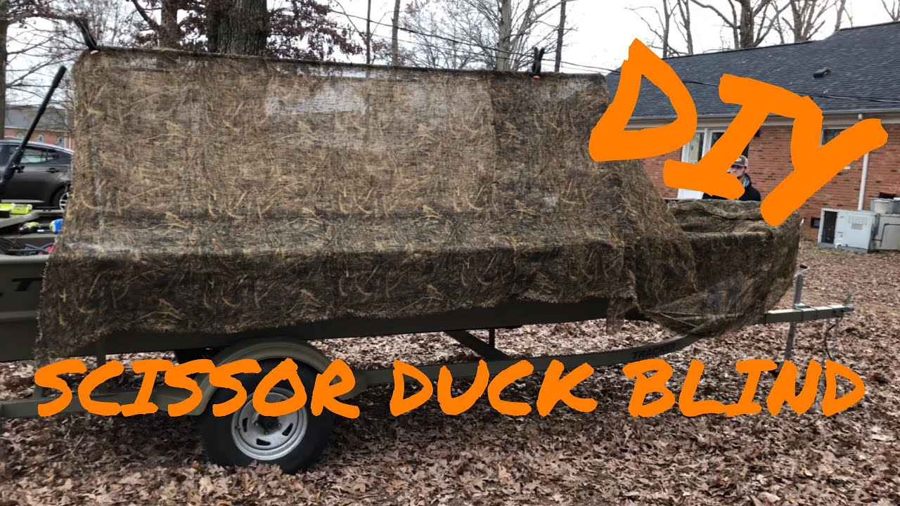 Diy duck blind on a boat youtube diy duck blind on a boat solutioingenieria Images