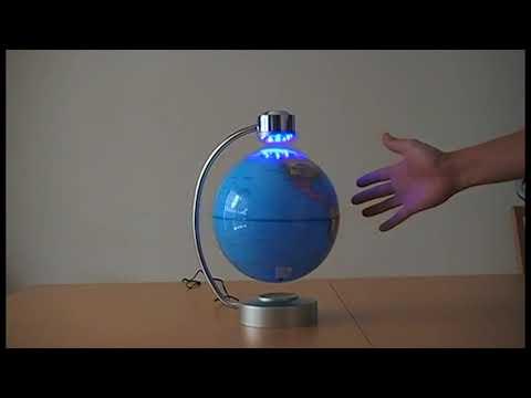 Desk Display Magnetic Rotating Earth Globe