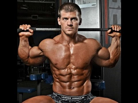 Ben Haag Natural Bodybuilder Trains Arms At B Strong Fitness In Dewitt Michigan