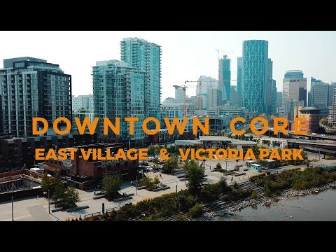 YYC Downtown Core, East Village & Victoria Park - Calgary, AB